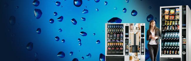 Máquinas de Snacks e Bebidas