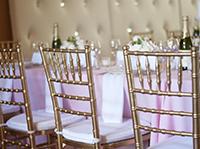 Cadeira Tiffany Dourada